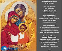 preghiera sinodo famiglia