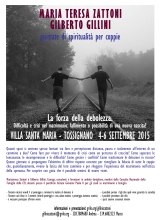 4-6 settembre Giornate di Spiritualità per coppie con i coniugiZattoni-Gillini
