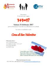 Festa San Valentino – sabato 11 febbraio2017
